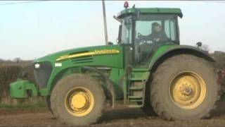 The Big John Deere 7820 & Pottinger Terrasem 4000 driling spring barley- johnwandersonagain