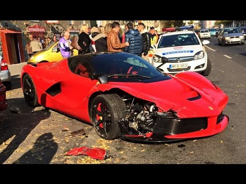 Super Car Crash And Fails Compilation Luxury Crashes Accidents Part 1