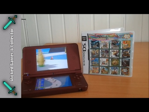 Nintendo NDS / 3DS / 2DS / 208 in 1 Multi Cart / Cardridge / Multi Game Card / R4 Clone / Pokemon