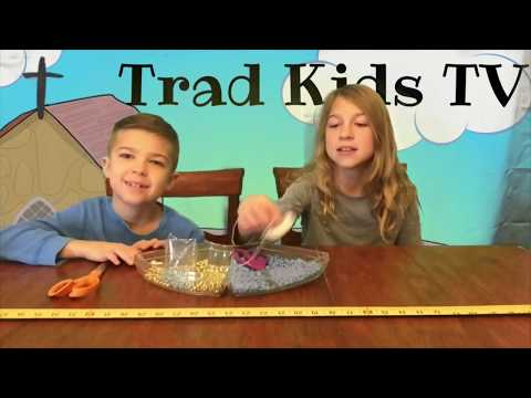 How To Make A Sliding Ladder Rosary (& Enter To Win One!) DIY Rosary Making Video with Trad Kids TV