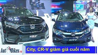 Kích cầu cuối năm, Honda City, CR-V khuyến mãi tới 100 triệu
