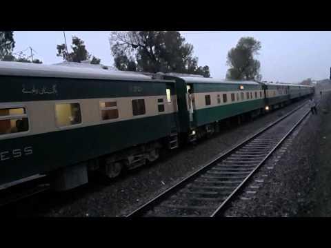Pakistan Railways (5up Green line, 7up Tezgam and 12Dn Hazara Express)
