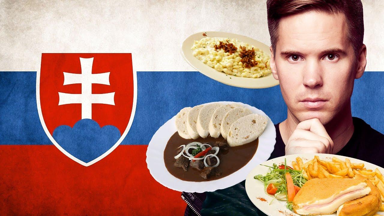 Taste Testing Slovakian Food [Kult America]