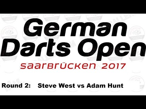 Happybet German Darts Open 2017 HQ - Round 2 [4of16]: Steve West vs Adam Hunt