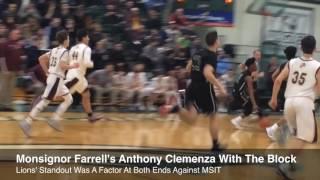 Monsignor Farrell MVP Talks About JV Title