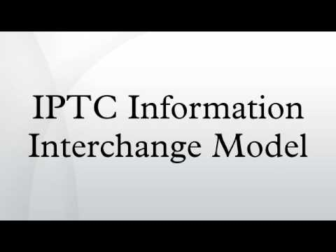 IPTC Information Interchange Model