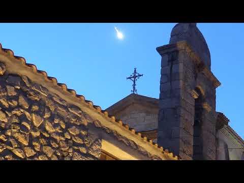 Bolide sul cielo della Corsica