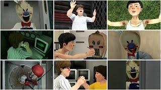 Ice Scream Episode 5 All Cutscenes