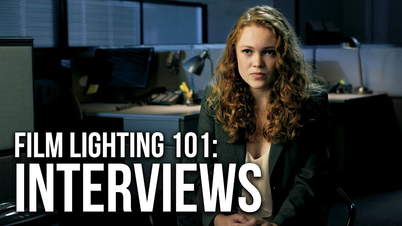 How To Film Cinematic Interviews 4 Lighting Setups Youtube