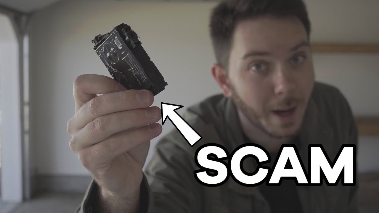 This video claiming ink cartridges are a scam is going