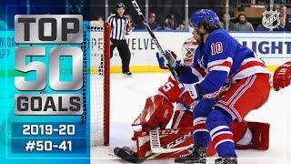 Top 50 Gorgeous Goals ... So Far: #50-41 | 2019-20 NHL Season
