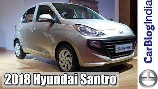 2018 Hyundai Santro New Model Walk Around Review- #AllNewSantro