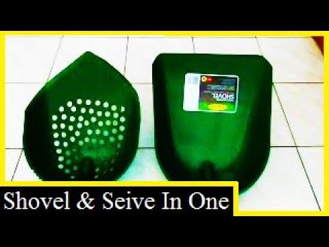 HOW TO MAKE THE ORIGINAL PLASTIC SHOVEL & SIEVE.