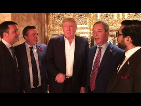 Dennis Waterman- I could be so good for you (featuring Donald Trump and and Nigel Farage)
