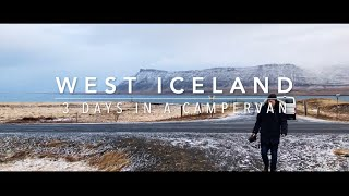 West Iceland Campervan Road Trip