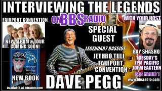 Dave Pegg Legendary Bassist w/Jethro Tull & Fairport Convention
