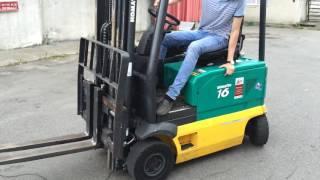 Электрический погрузчик Komatsu FB16-2R, на складе в Киеве(, 2016-07-05T14:27:36.000Z)