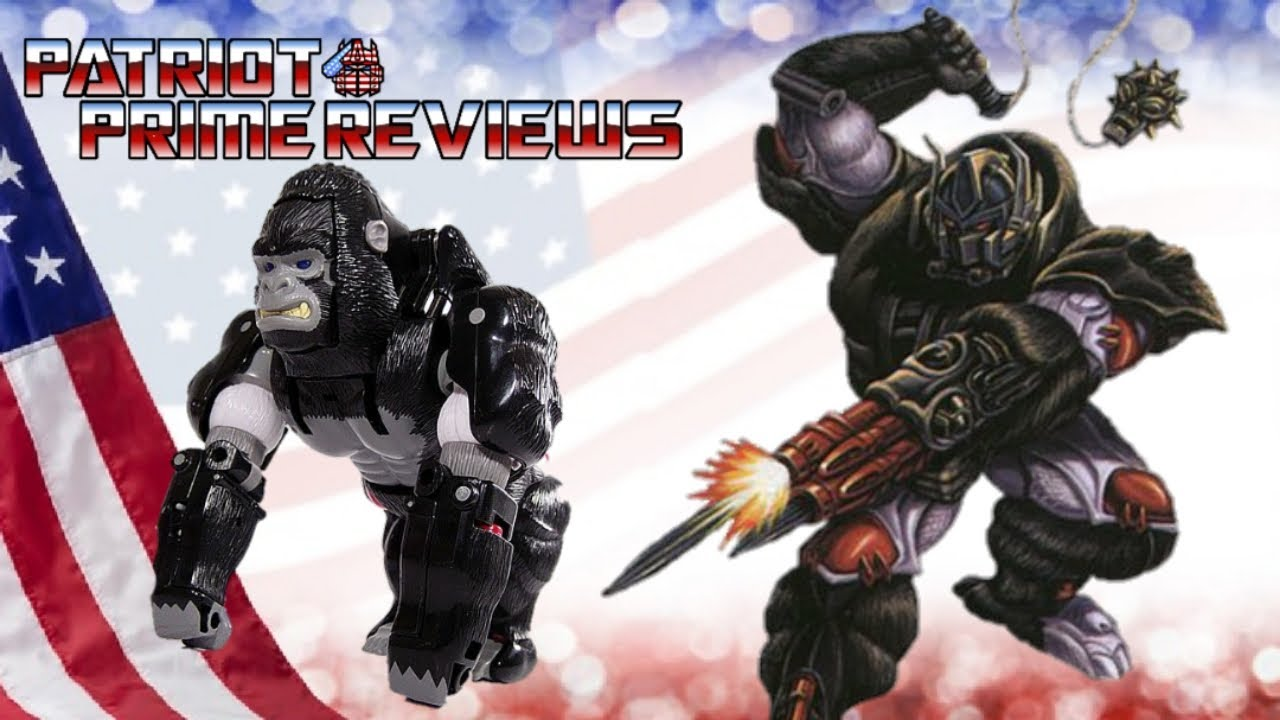 Patriot Prime Reviews Beast Wars Optimus Primal