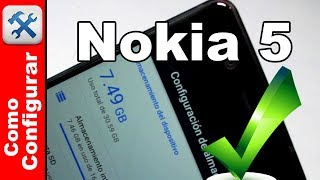 Nokia 5 Cómo ampliar la memoria interna - Comoconfigurar