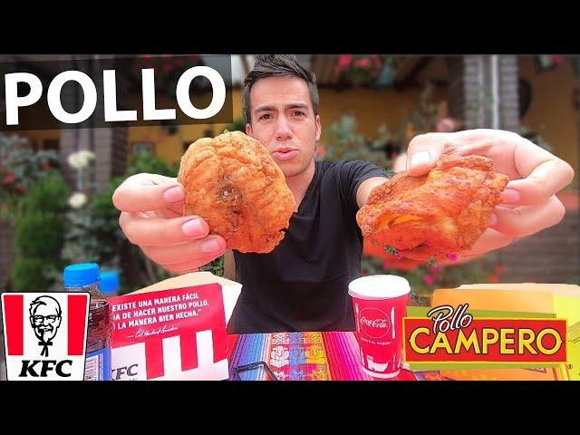 Pollo KFC vs CAMPERO | ¿Cuál es mejor? - Damian