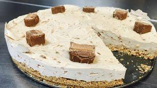 How To Make Mars Bar Cheesecake NO BAKE