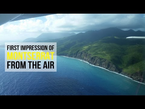 What Does Montserrat Look Like from the Air? | SocaMom®