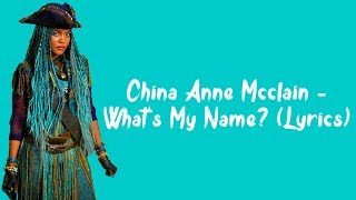 China Anne McClain - What's My Name? (Lyrics)