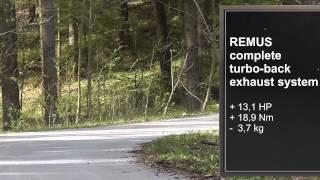 BMW M235i выхлопная система REMUS