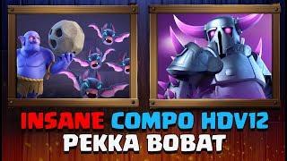 HDV12 PEKKA BoBat - LA Compo du Championnat du Monde de Clash of Clans