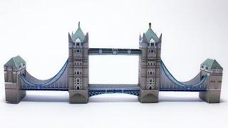 Tower Bridge Paper Crafts tutorial !