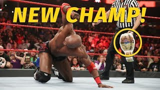 WWE News: New Champ Crowned On Raw, AEW To Have Win/Loss Tables?