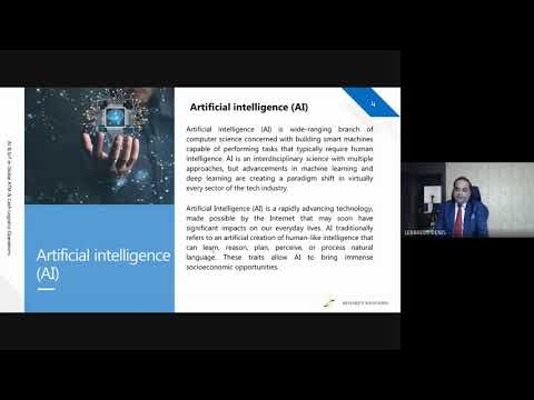 ATAL FDP on Artificial Intelligence, Machine Learning and Genomics   -Session 10
