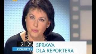 Sprawa dla reportera - zapowiedź odcinka - emisja TVP1, 25 listopada 2010, godz. 21:25