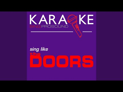 Alabama Song (In the Style of Doors) (Karaoke with Background Vocal)