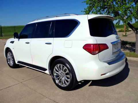 2015 Infiniti QX80 With Deluxe Technology Package And More (Fort Worth, Texas)