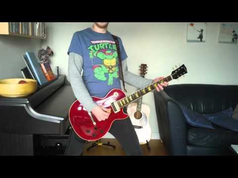 Def Leppard Dangerous guitar cover