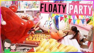 ALLE Luftmatratzen in AVAs Zimmer!  Kinderzimmer voller POOLTIERE 😱  Alles Ava