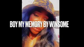 5. Boy, My Memory by Winsome ( Golden Hour Tape)