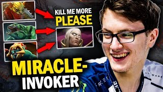 MIRACLE- INVOKER FACES HARDEST ENEMIES EVER AT CHINA SERVER | EPIC COMEBACK GAME - DOTA 2 INVOKER