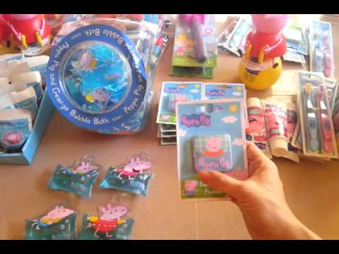 PEPPA PIG accessori da BAGNO su www.babou.it PRESENTAZIONE - YouTube