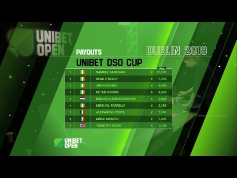 Unibet DSO Cup Day 2 at Unibet Open Dublin 2018  Live Stream