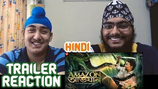 Amazon Obhijaan HINDI Trailer REACTION with BRO | Dev | SVF