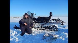 Рыбалка.Налим в морозный день.