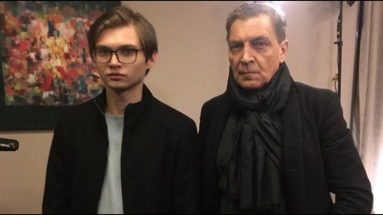 невзоров с сыном фото