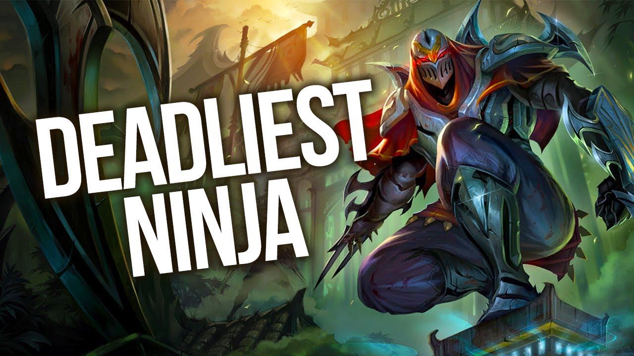 5 ninjas in league of legends