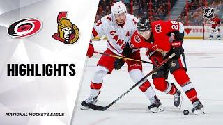 Extended highlights of the Carolina Hurricanes at the Ottawa Senators.