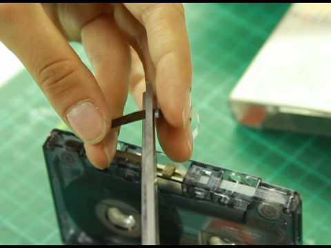 Cinta de cubierta de cassette vintage