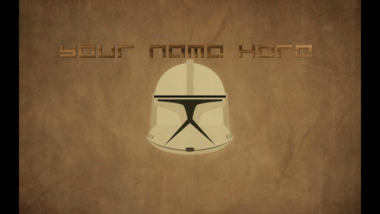Star Wars Profile Picture - YouTube