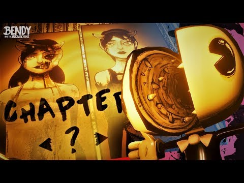 Exploring Bendy's SECRET Chapter! The Archives (Bendy & the Ink Machine Secrets)