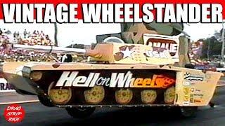 1996 Norwalk Night Under Fire Hell on Wheels Wheelstander Tank Vintage Drag Racing Videos